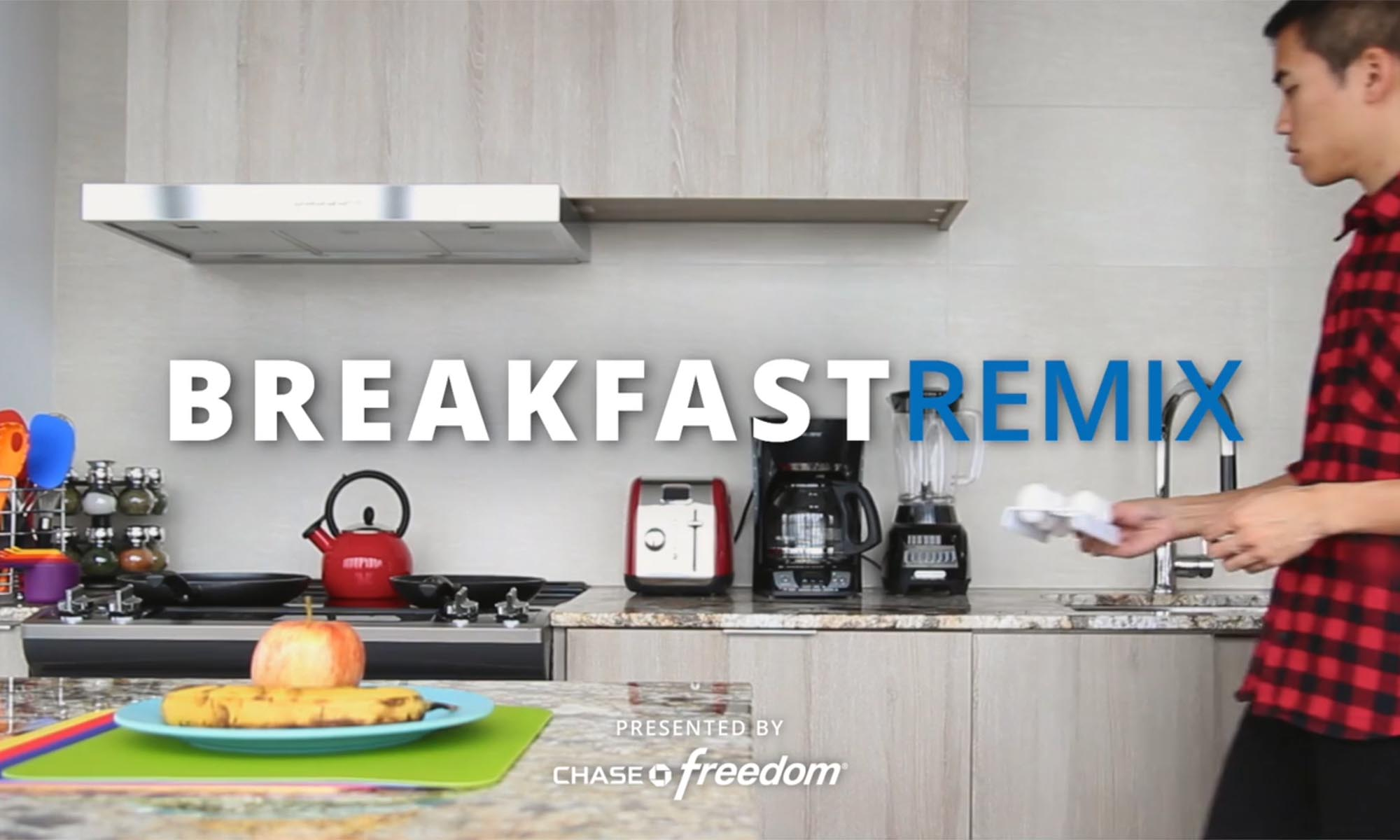 Chase Freedom Breakfast Remix Video