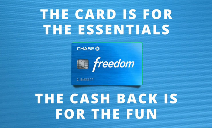 Chase Freedom Social Marketing